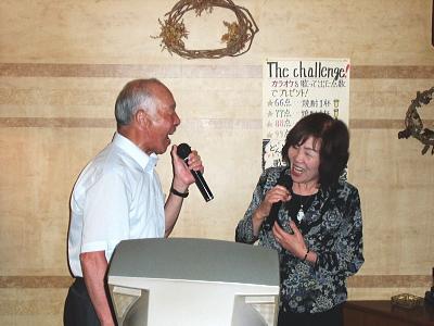L坂井正夫妻のデュエット